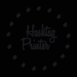 hashtag printer logo final